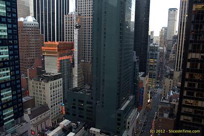 Hyatt Times Square, 135 West 45th Street - 03/12/2012 (DSLR)