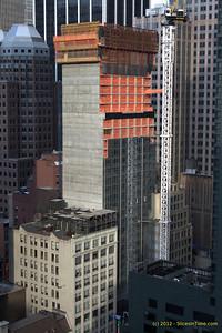 Hyatt Times Square progress - April 10, 2012