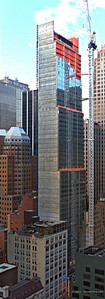 Vertical panarama of Hyatt Times Square - July 27, 2012