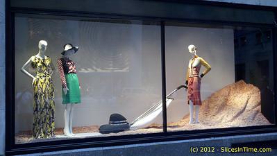 Window Shopping - 57th St, Midtown walk, May 5, 2012 - Motorola DroidX