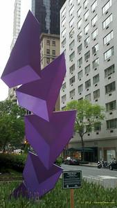 Park Avenue Art - Midtown walk, May 5, 2012 - Motorola DroidX
