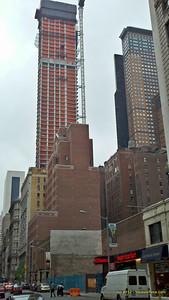 One 57 building on 57th Street - Midtown walk, May 5, 2012 - Motorola DroidX