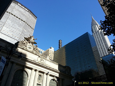 Three iconic landmarks on a gorgeous Fall day. Taken with Samsung Galaxy S3.