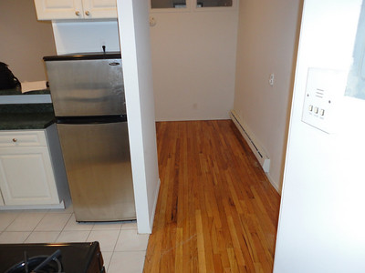 Just 6 days before moving into our first New York City apartment on 49th St.