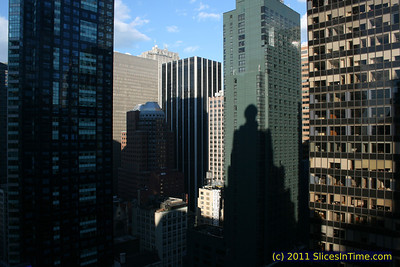 View from the 25th floor of the Paramount Building in Times Square