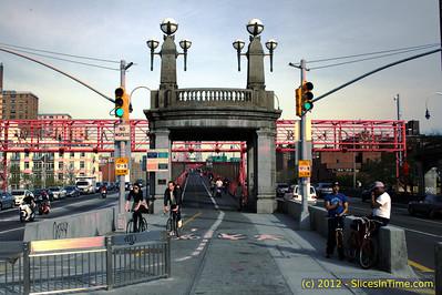 Walk over the Williamsburg Bridge - New York, NY - April 14, 2012