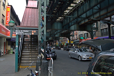 Walk over the Williamsburg Bridge - New York, NY - April 14, 2012