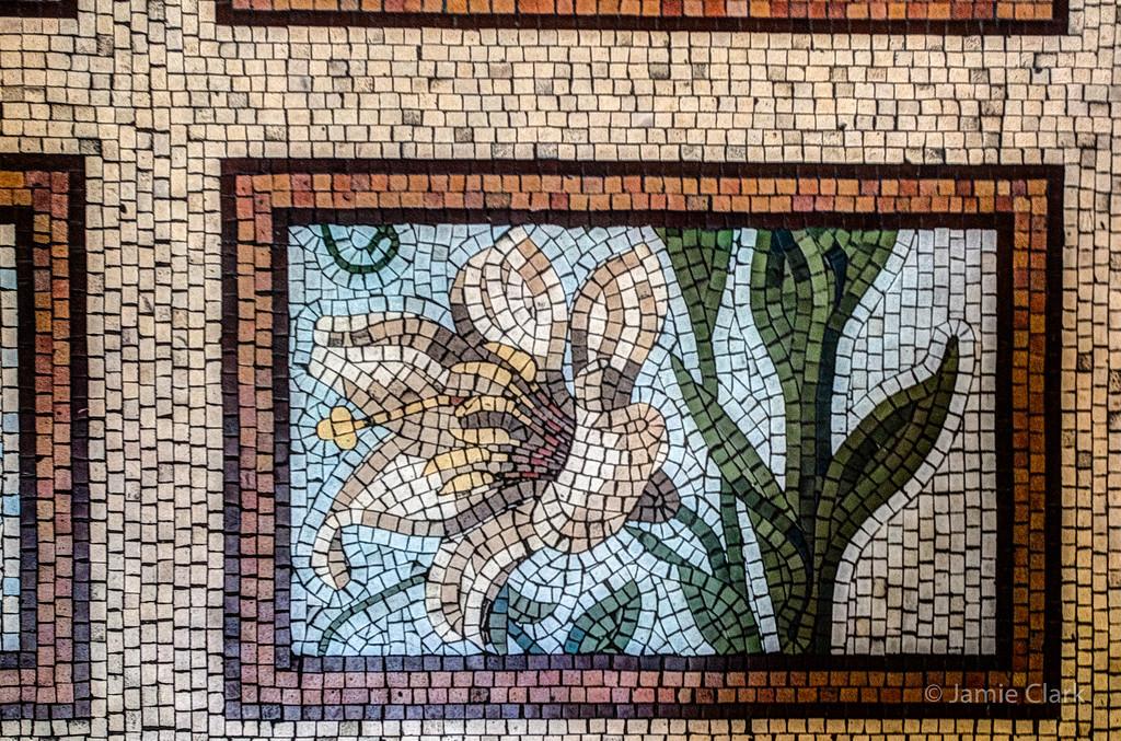 Mosaic Tiles at the Metropolitan Cathedral