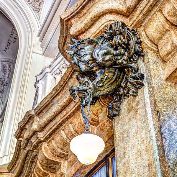 Inside Palacio Barolo