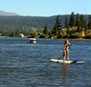 Paddle boarding is really becoming popular all over.