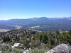Views from the summit.  Here looking towards Big Bear City, east of Big Bear Lake.
