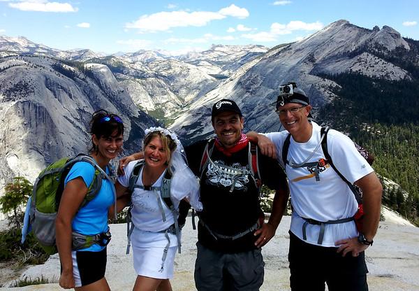 Trip to Yosemite for E & R's Wedding