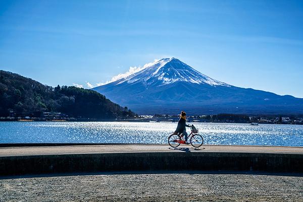 Lake Kawaguchiko, Japan