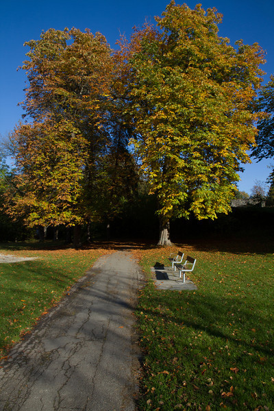 Autumn light in the summer paradise.<br /> Huk, Oslo, Norway