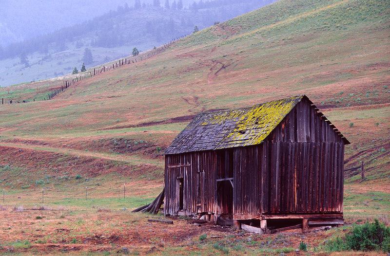 Mossy Barn, The Palouse<br /> (Washington, 2004)
