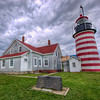 "West Quoddy Head Lighthouse in Lubec, Maine. The easternmost point in the US.<br /> <a href=""http://www.richarsenault.com/content/2013/06/west-quoddy-head-lighthouse/"">http://www.richarsenault.com/content/2013/06/west-quoddy-head-lighthouse/</a>"