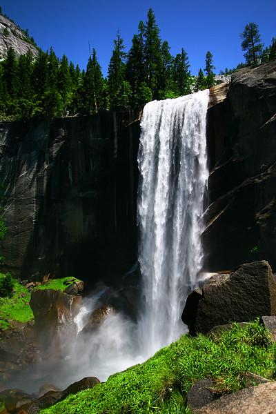 Vernal Falls, Yosemite, California