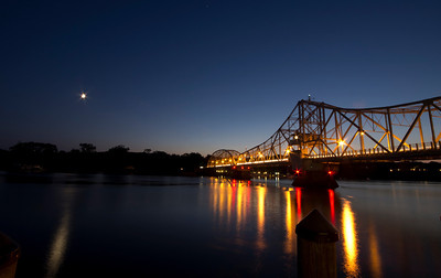 The Swing Bridge in East Haddam, CT