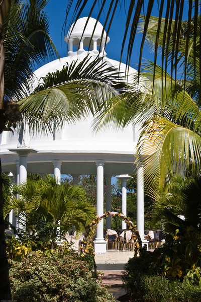 Wedding Pavillion at Melia Caribe Tropical, Punta Cana, Dominican Republic