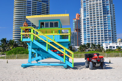 Life Guard Station - Miami Beach