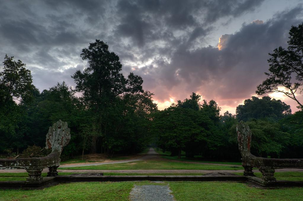 Angkor Wat, East Entrance