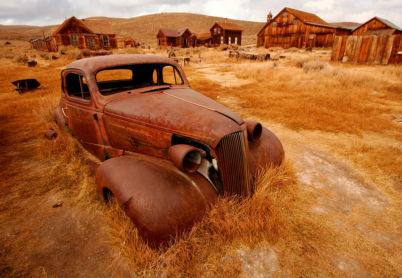Rusted Metal, Bodie<br /> (California, 2005)