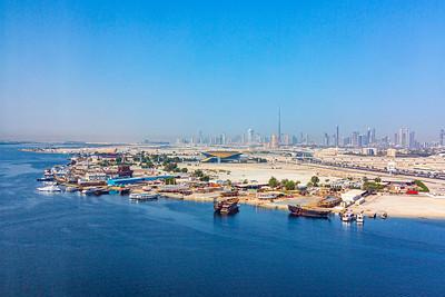 Dubai Waterfront Cityscape