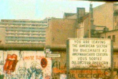 Berlin Wall 1984