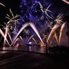 Fireworks at EPCOT at Walt Disney World in November 2013.