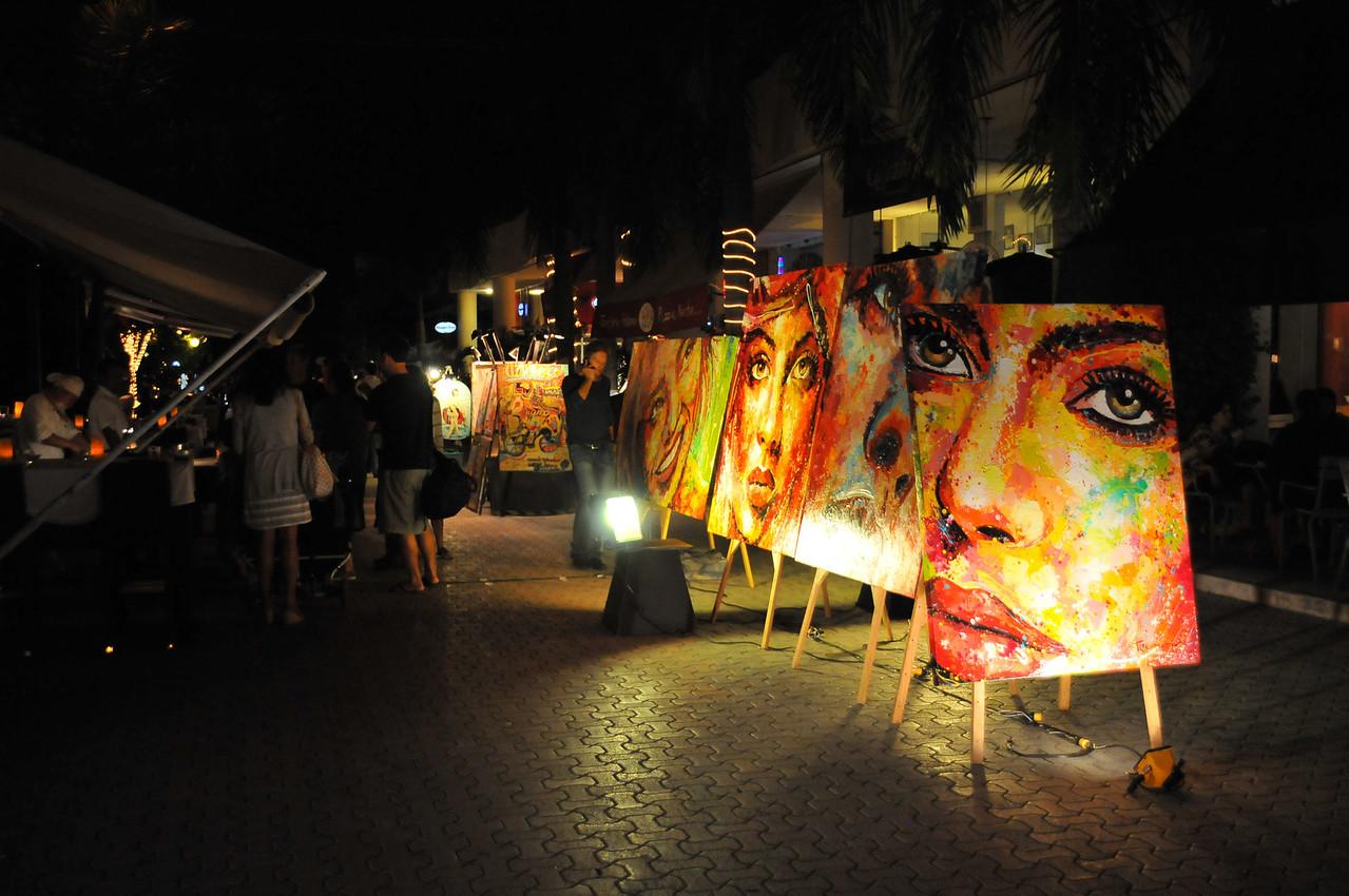 Views along 5th Avenida, Playa del Carmen - November 2012