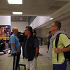 Arrival at Johannesburg airport