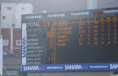 2014 South Africa Cricket Tour - Day 1