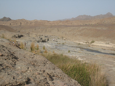 Looking over the Hatta pools.