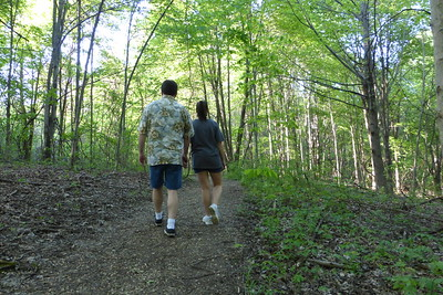 Us on the trail.
