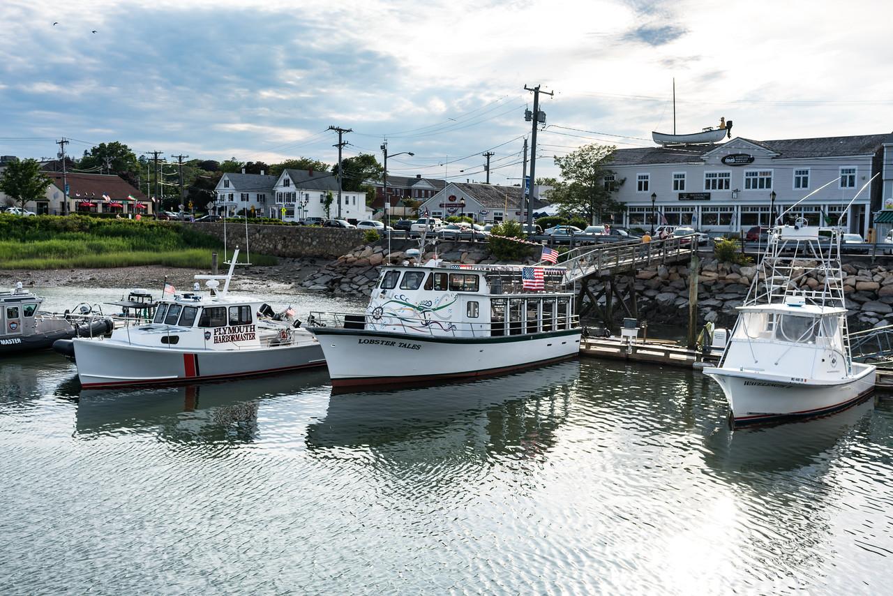 Town Wharf charter boats