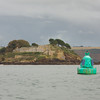 Drake's Island guarding Plymouth Sound
