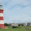 Smeaton's Tower and the Royal Citadel