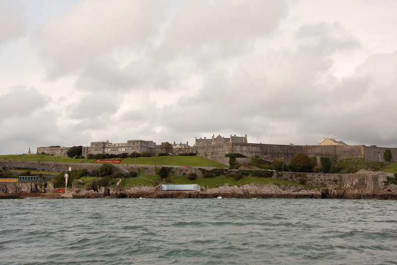 The Royal Citadel on the Lower Hoe near the Barbican