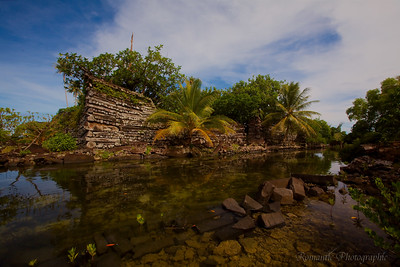 One of the mysterious islands of Nan Madol.