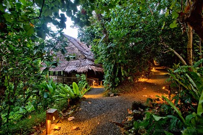 One of the jungle dwelling of The Village hotel.