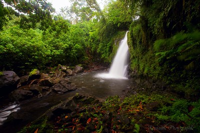 Liduduhniap waterfall is a gem in the jungle.
