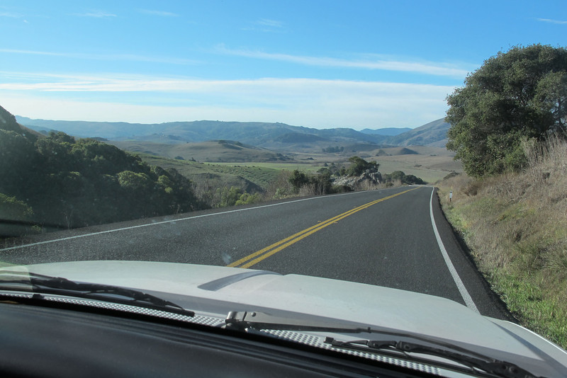 The next day, driving to Point Reyes to check out the lighthouse.