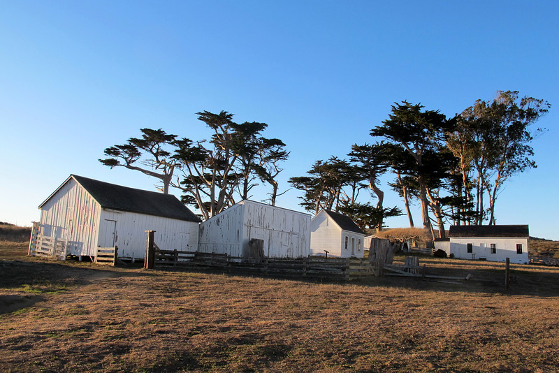More buildings that are on the ranch.
