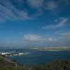 <h3>The San Diego harbor from Point Loma.