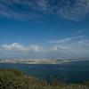 <h3>Looking northeast across North Island.