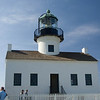 <h3>The Lighthouse at Point Loma. The tower also contained bedrooms for the staff.