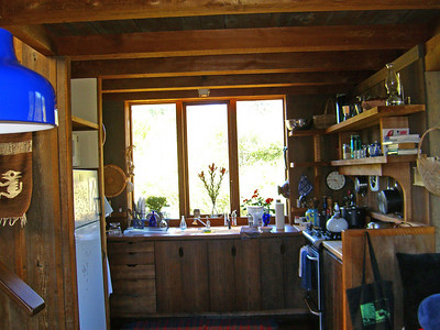 Kitchen, Juniper House, Bolinas