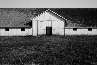 Barn at Pierce Point #2 Point Reyes