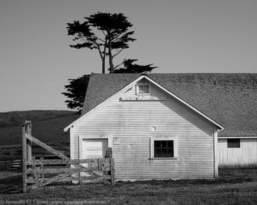 Barn at Pierce Point #3 Point Reyes