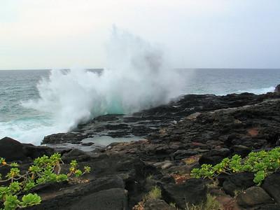 300 - rocks next to The Point at Poipu Resort